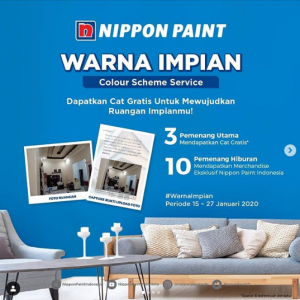 Lomba instagram gratis cat nippon paint