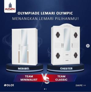 Lomba Instagram Olympic Berhadiah Lemari