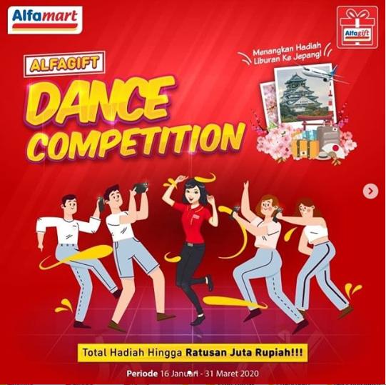 Lomba Alfagift Dance Cover Berhadiah Liburan ke Jepang
