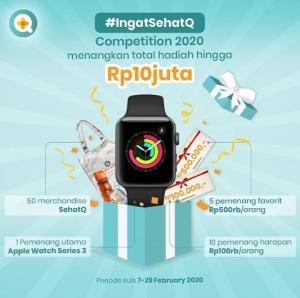 Lomba Foto Sehatq Berhadiah Apple Smartwatch Series 3