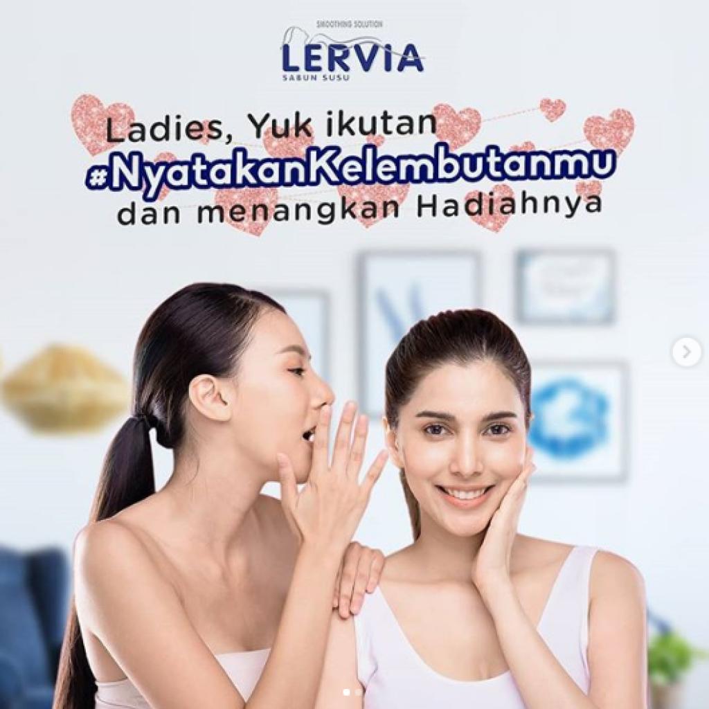 Lomba Instagram Lervia Berhadiah Voucher 750 Ribu