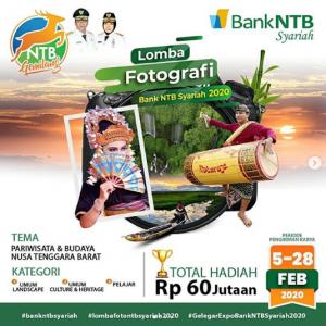 Lomba Foto Bank NTB Syariah Berhadiah 60 Juta