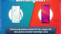 Kuis Bergerak Maju Telkomsel Berhadiah Samsung Note 10 Lite & Oppo A5