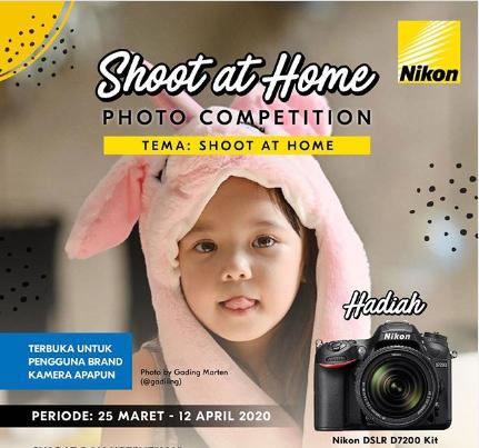 Lomba Foto Nikon Shoot At Home Berhadiah kamera