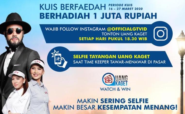 Lomba Foto Selfie Uang Kaget Berhadiah uang 1 Juta