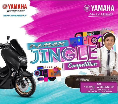Lomba Jingle Yamaha Musik Berhadiah Motor Nmax