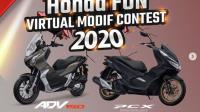 Lomba Modifikasi Motor Honda Virtual Berhadiah Laptop