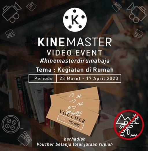Lomba Video Instagram Kinemaster Berhadiah Voucher Belanja