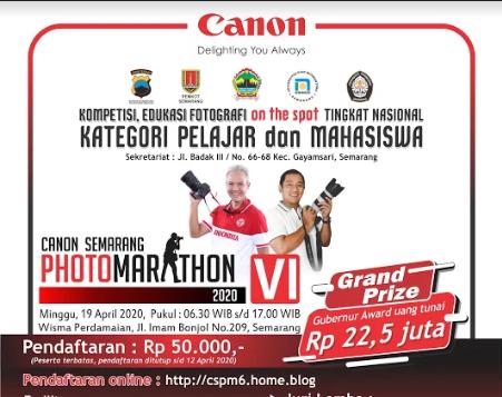 lomba foto canon semarang photomarathon 6 2020
