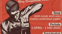 Lomba Blog Kopi Jujur Berhadiah 8 Juta Rupiah