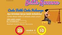 Lomba Desain Batik Kencana BKKBN Hadiah 50 Juta