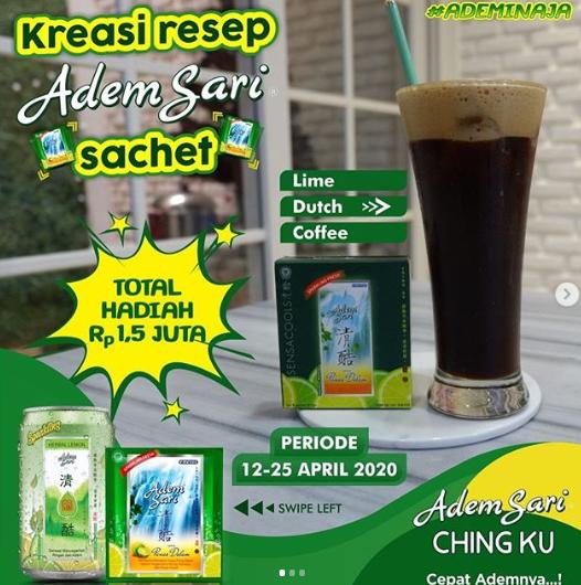 Lomba Kreasi Resep Minuman Adem Sari