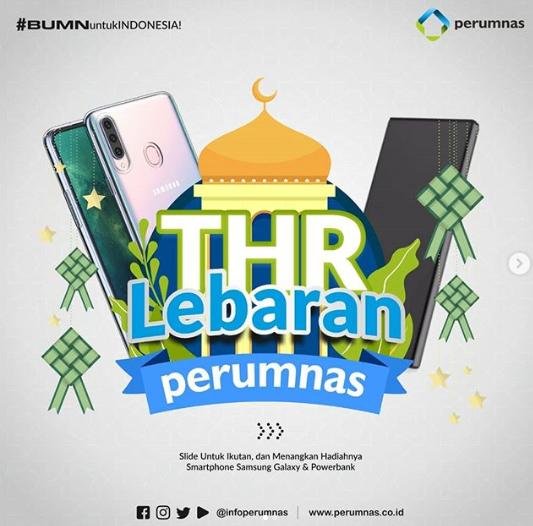 Kuis Perumnas Lebaran Berhadiah Smartphone Samsung & Powerbank