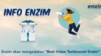 Lomba Best Video Testimonial Enzim