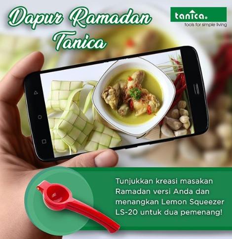lomba kreasi masak ramadan dan lebaran tanica