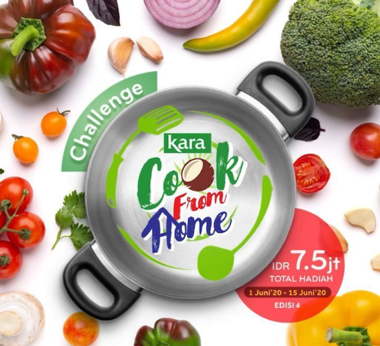 Lomba Kara Cook From Home Juni 2020