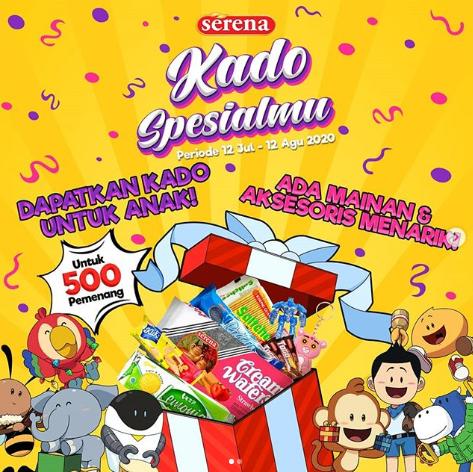 Giveaway Serena Biscuat Bagi-Bagi 500 Kado