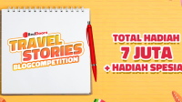 Lomba Blog Travel Stories Reddoorz Berhadiah 7 Juta