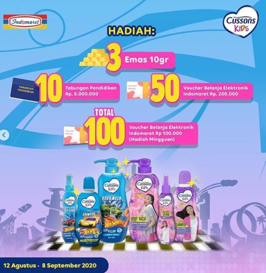Lomba Cerita Indomaret & Cussons Kids #JalaniKebiasaanBaik