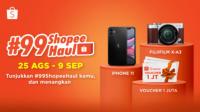 Lomba Video Tiktok Shopee Haul Berhadiah Iphone 11