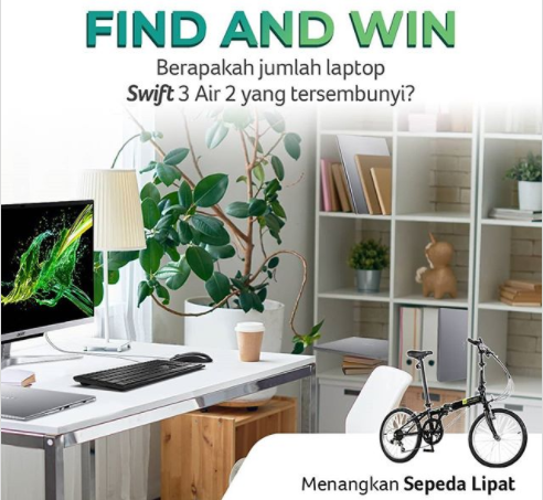 giveaway acer Indonesia