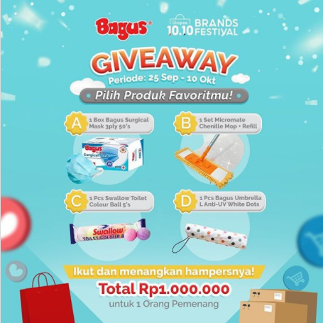 giveaway bagus & Shopee