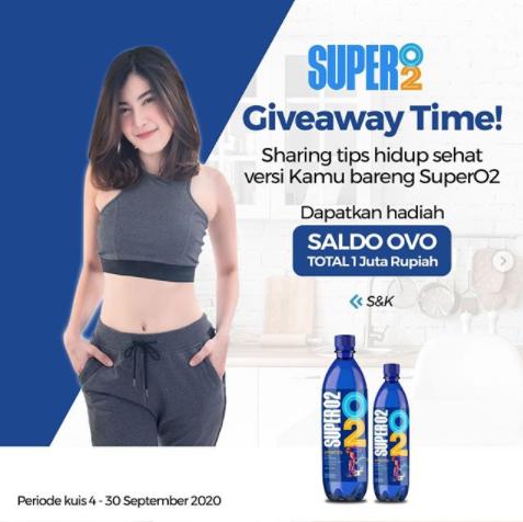 giveaway super o2