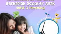 Lomba Instagram Filter Kodomo Berhadiah 3 Scooter Anak