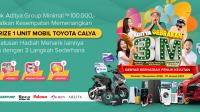 Undian Aditya Gebrakan 3M Kirin Berhadiah Mobil Sepeda Motor Hp iPhone Emas