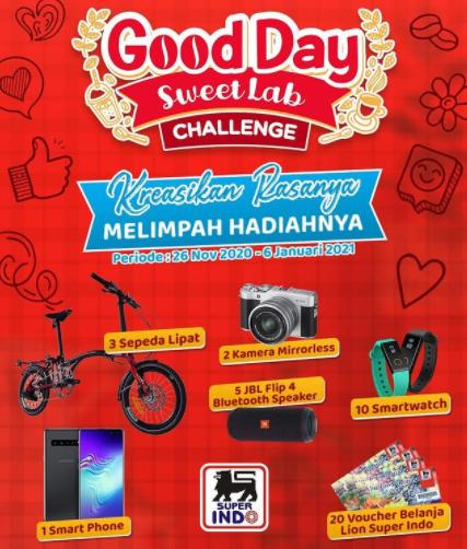 lomba video goodday Sweet Lab Challenge