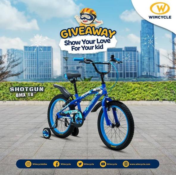 Giveaway Wimcycle Berhadiah Sepeda