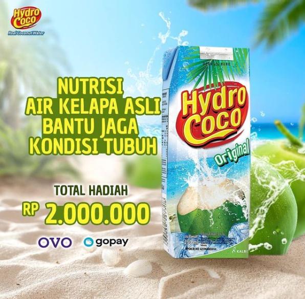 giveaway hydro coco berhadiah 2 juta