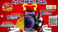 promo rejeki makan buah alfamidi hadiah iphone12 dan logam mulia