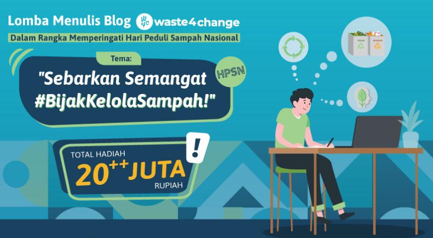 lomba menulis blog waste4change