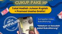 Lomba Video Buku Warung Berhadiah Total Jutaan Rupiah dan Promosi Gratis