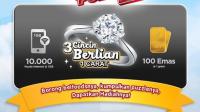 Promo Belfoods Demi Puber Berhadiah Langsung Emas dan Cincin Berlian