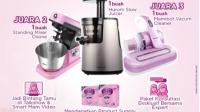 Kontes Foto/Video Cara Pintar Mam Terbaik Hadiah Juicer, Mixer, Vacum Cleaner