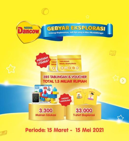 Promo Dancow Gebyar Eksplorasi Berhadiah Total Rp 1.3 Miliar