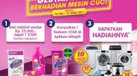 Gebyar Promo Beli Vanish Berhadiah Mesin Cuci, Magic Com, Blender dll