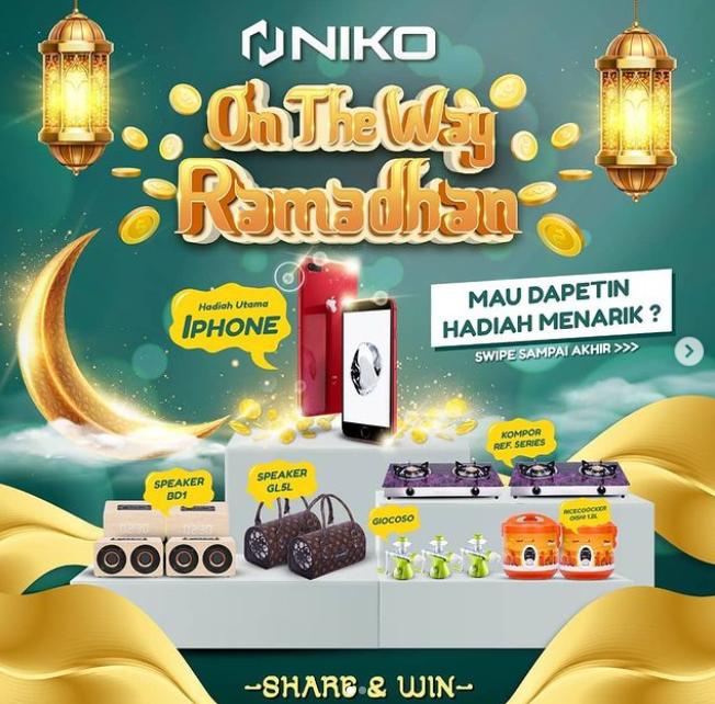giveaway niko otw ramadhan 2021
