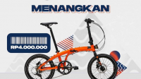 giveaway shopee for men dan element bike