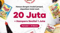 Lomba Goyang Jempol Berhadiah Uang Tunai Total 20 Juta