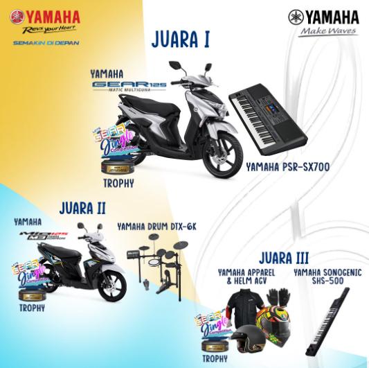 lomba jingle lagu yamaha berhadiah sepeda motor