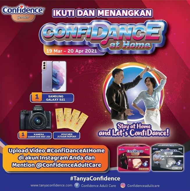 Lomba Video Joget Confidance Berhadiah Samsung Galaxy, Kamera Canon dll