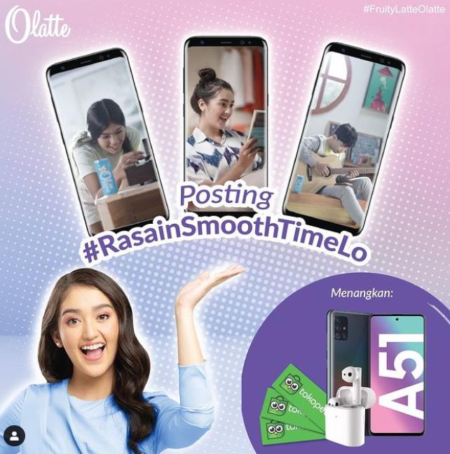 Lomba Foto/Video Rasain Smooth Time Lo Berhadiah Samsung A51, TWS Xiaomi dan E-Voucher