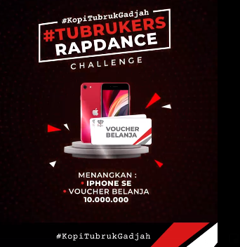 Lomba Video Tubrukers Rap Dance Berhadiah iPhone SE dan Voucher 10 Juta