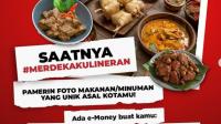 Lomba Foto Makanan Unik Berhadiah e-Money Total Jutaan Rupiah