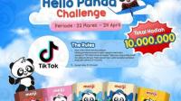 Lomba TikTok TVC Hello Panda Berhadiah Total Rp 10 Juta