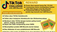Lomba TikTok Make it Happen AIM Biscuits Berhadiah Total Jutaan Rupiah