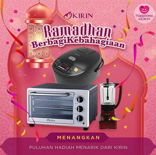 giveaway kirin ramadhan berbagi kebahagian